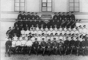 Личный состав 1-ой роты батальона .