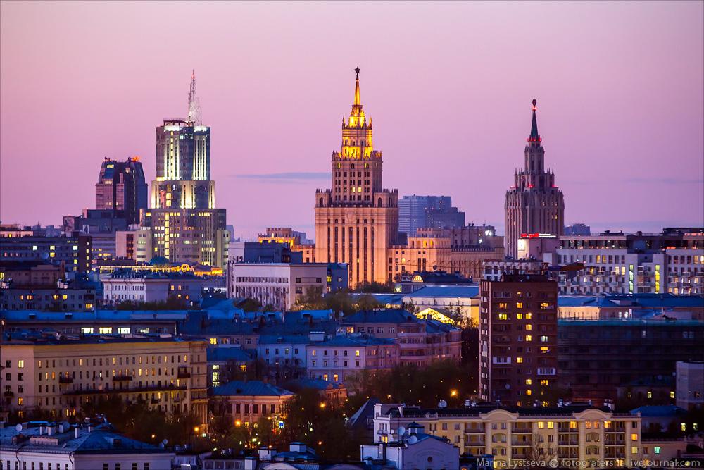Вечерняя Москва 23 апреля 2014