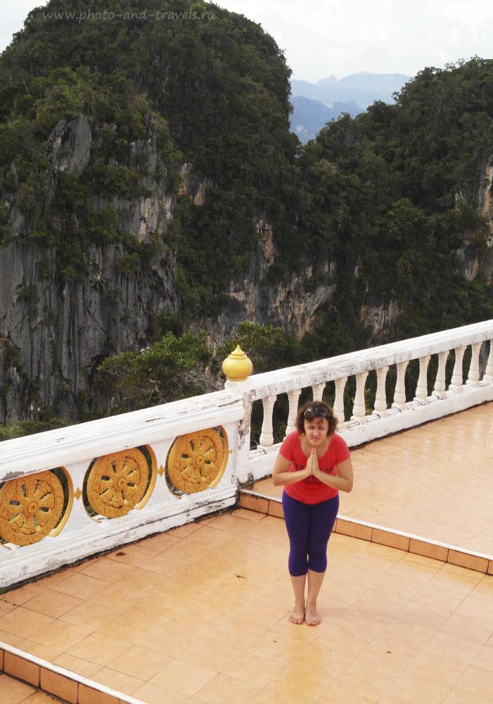 Фотография 10. Отзывы туристов о поездке к Храму Тигриной Пещеры в провинции Краби (Wat Tham Sua или Tiger Cave).