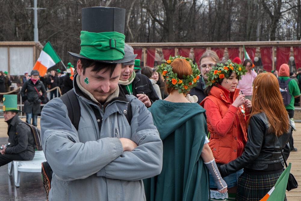 День святого Патрика 2014 в Москве, Сокольники