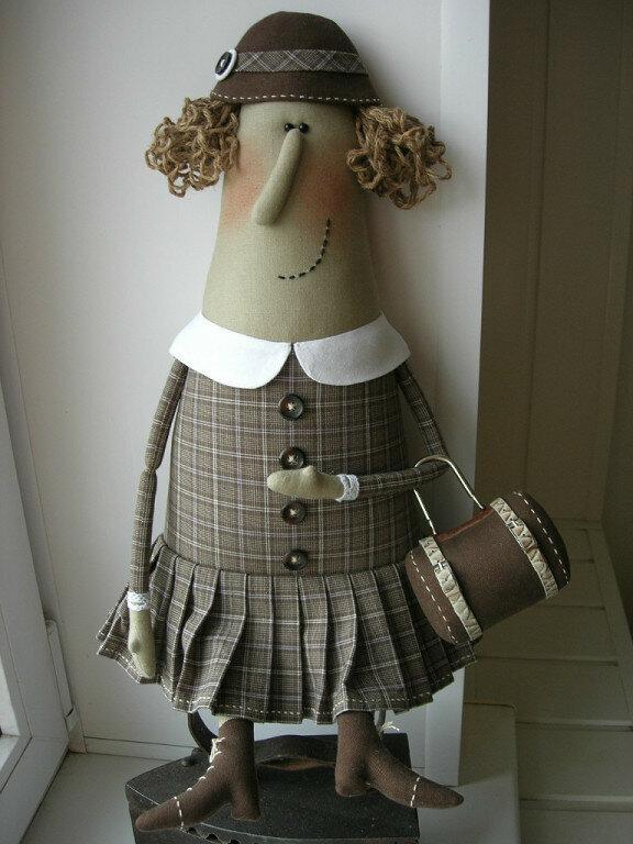 кукла бабулька
