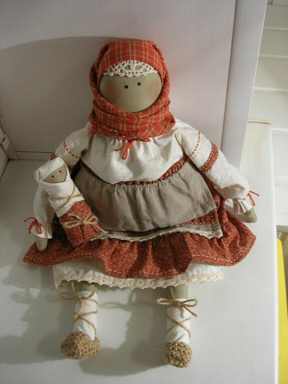кукла бабы крестьянки