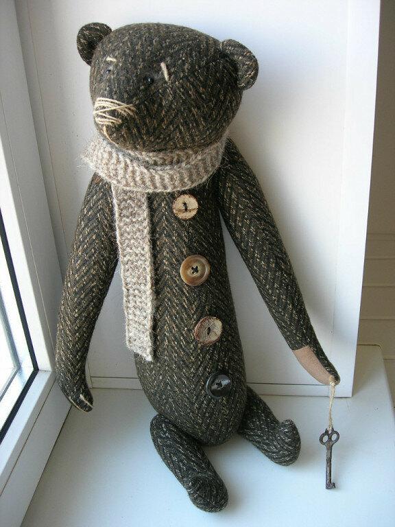 кукла медведя растомана