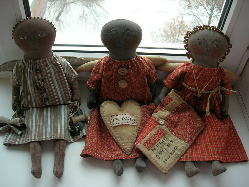 кукла три араба ангела