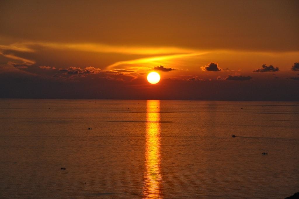 Закат на о. Панган