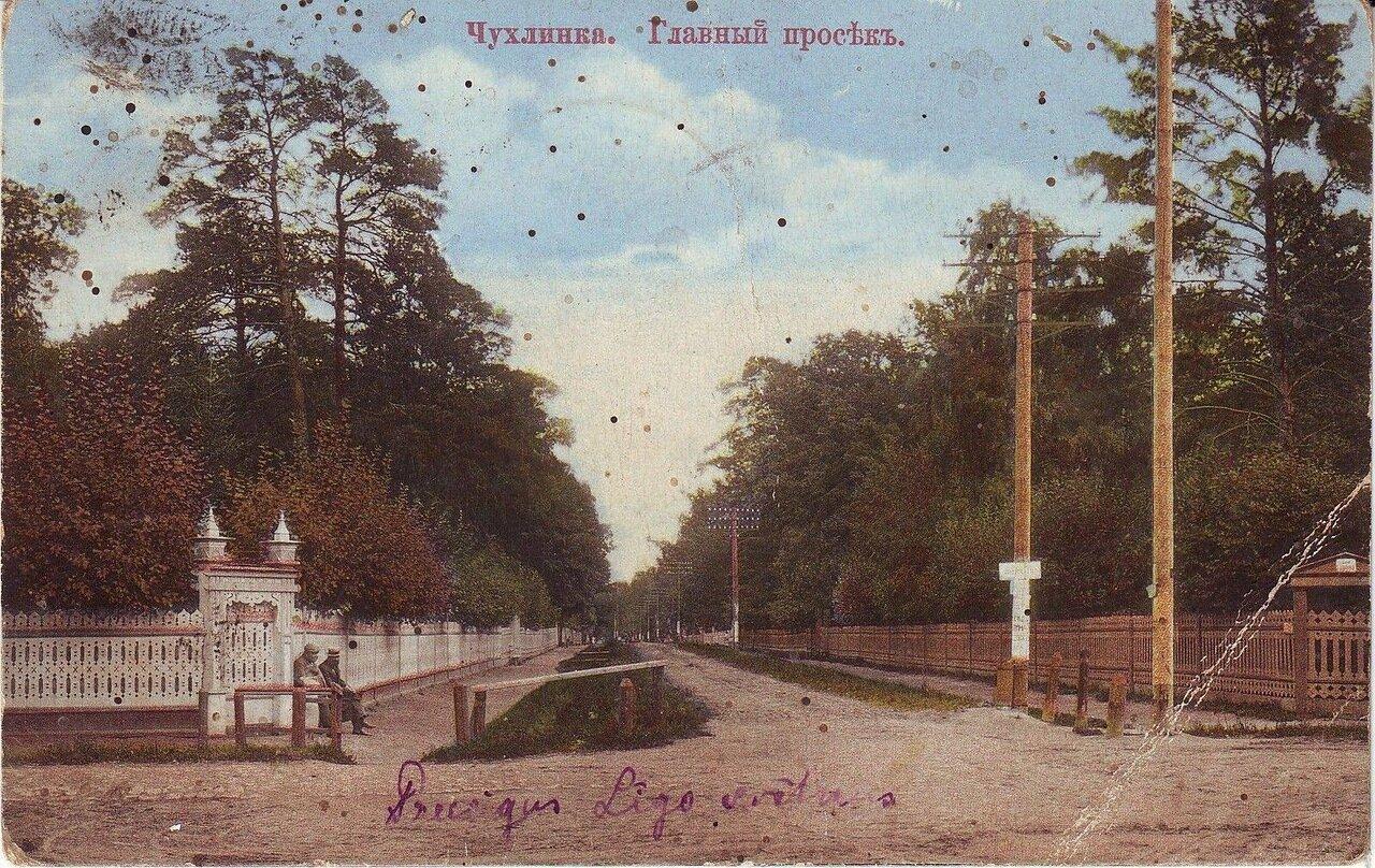 Окрестности Москвы. Чухлинка. Главный просек