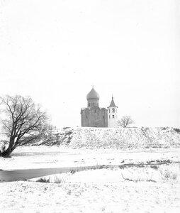 Церковь Спаса на Нередице после реставрационных работ 1903-1904 гг.