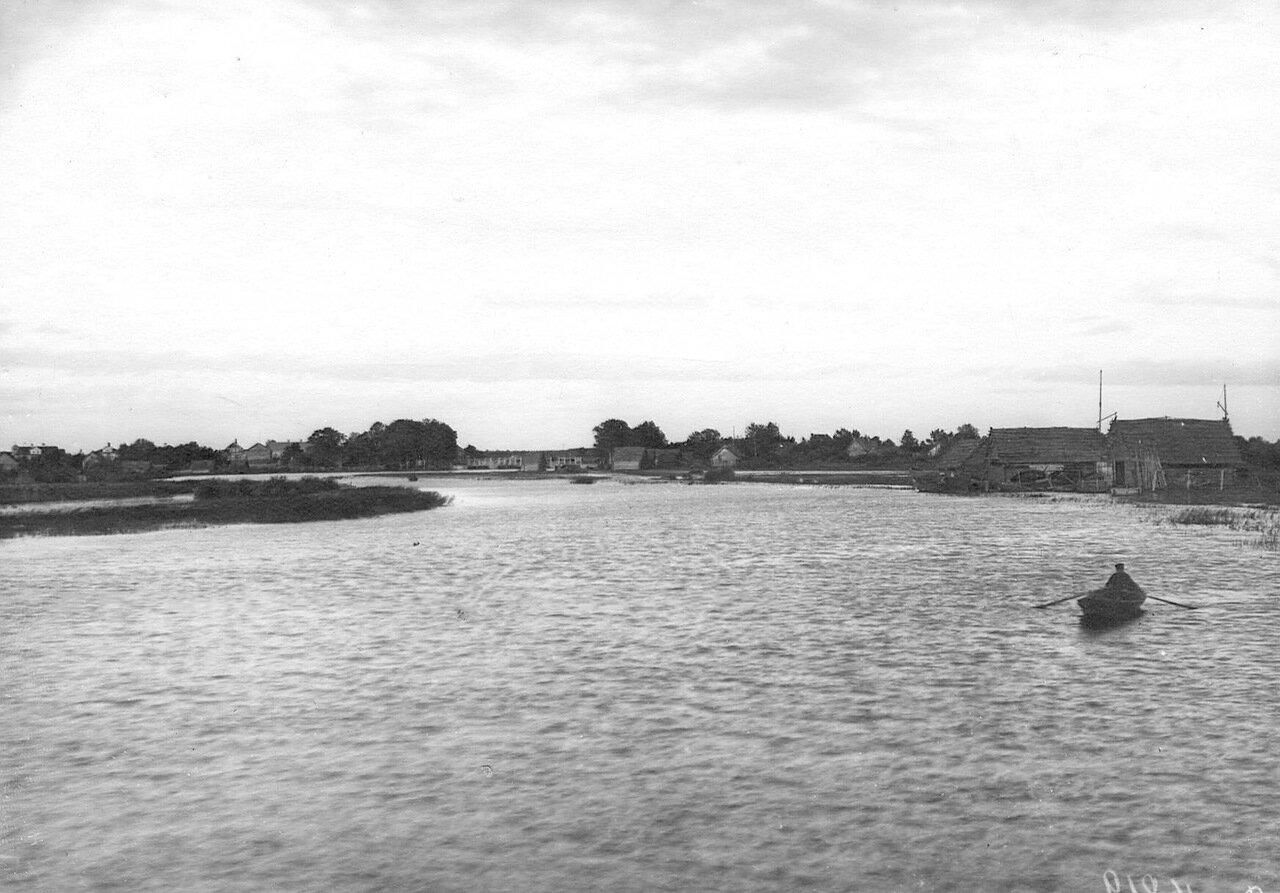 Вид Ладожского канала