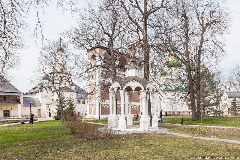 Киворий Спасо-Евфимиева монастыря в Суздале
