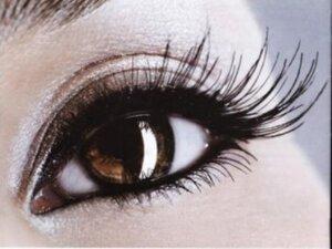 Визитная карточка женщины — её глаза