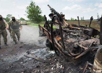 Украина: Ополченцы дали силовикам сутки на освобождение блокпостов