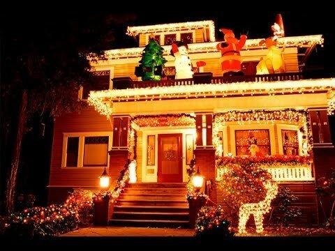 На рождественские огни в Америке тратится 6 млрд киловатт-час