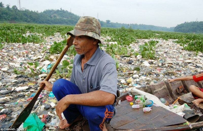 Индонезийский рай превратился в свалку
