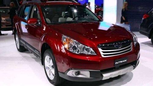 Классика жанра - Subaru Outback