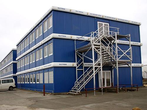 Модульные здания из контейнеров Containex