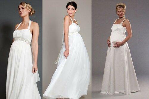Свадебные платья для беременных в чем отличие?