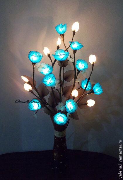 Светильники - цветы для оформления интерьера