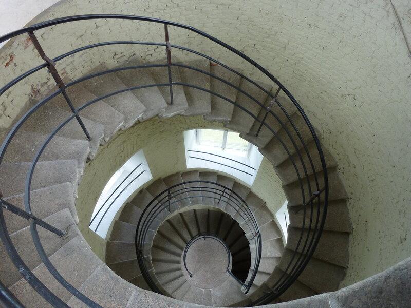 Винтовая лестница в Сигнальной башне