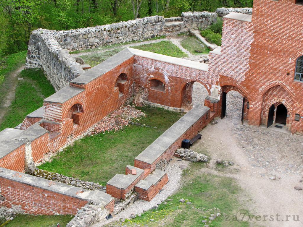 Турайдский музей-заповедник. Часть 4. Средневековый замок