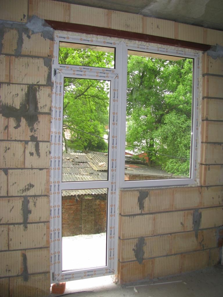 Балконний блок на Тернопільській 21