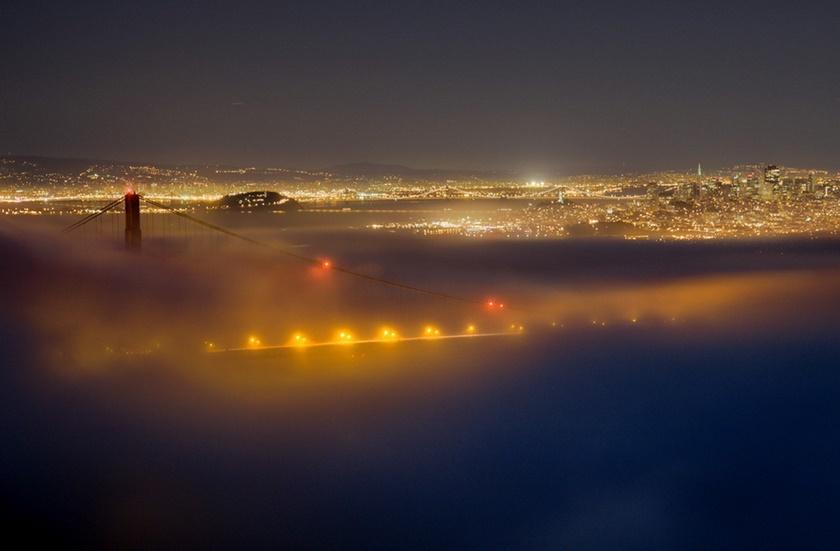 Красивые фотографии тумана в Сан Франциско, США 0 142269 87040991 orig
