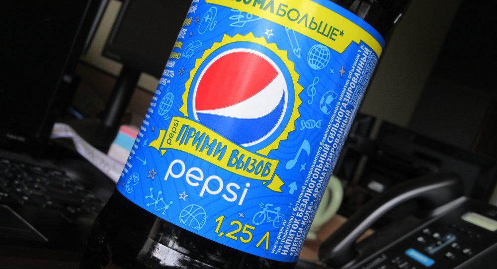 Бутылка Pepsi