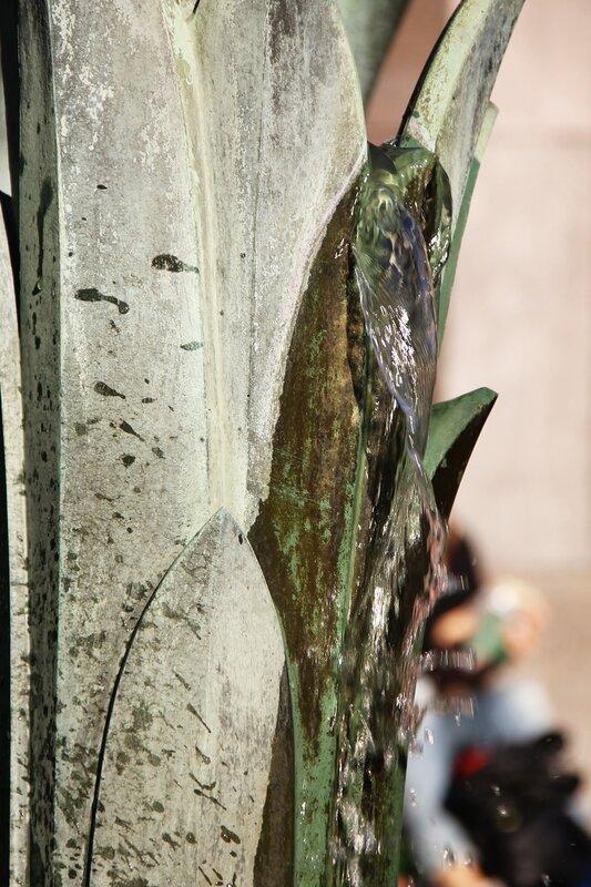 Стокгольм, Сенная площадь, Фонтан Орфея, Stockholm, Hötorget, Orfeusgruppen, The Orpheus Fountain