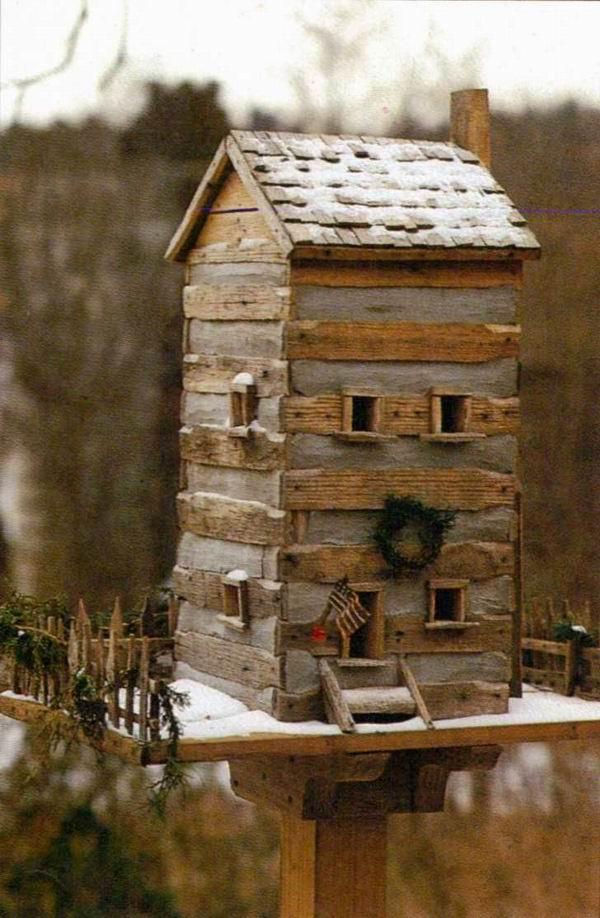 Домики для птиц. Скворечники - дизайнерские и хэндмейдовые. 35 штук