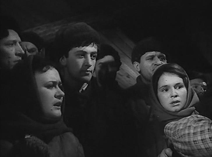 Василий Ливанов, 1959, «Город на заре» — комсомолец-строитель.