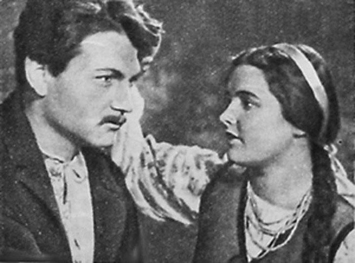 Ада Роговцева, 1956, «Кровавый рассвет» — Гафийка.