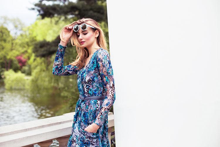 Рекламная компания весна лето 2014 дизайнера Бартека Януша