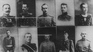 Портреты офицеров, ранее служиыших в бригаде (фотографии из музея бригады).