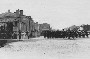 Парад Измайловского полка.