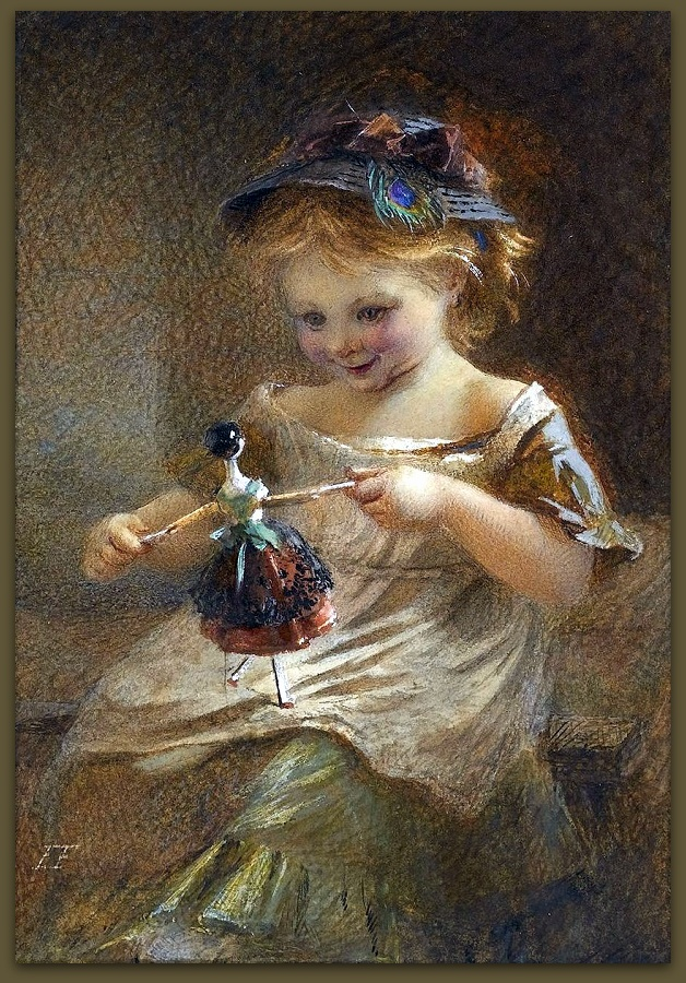 Emily Farmer (1826 – 1905) The Doll.jpg