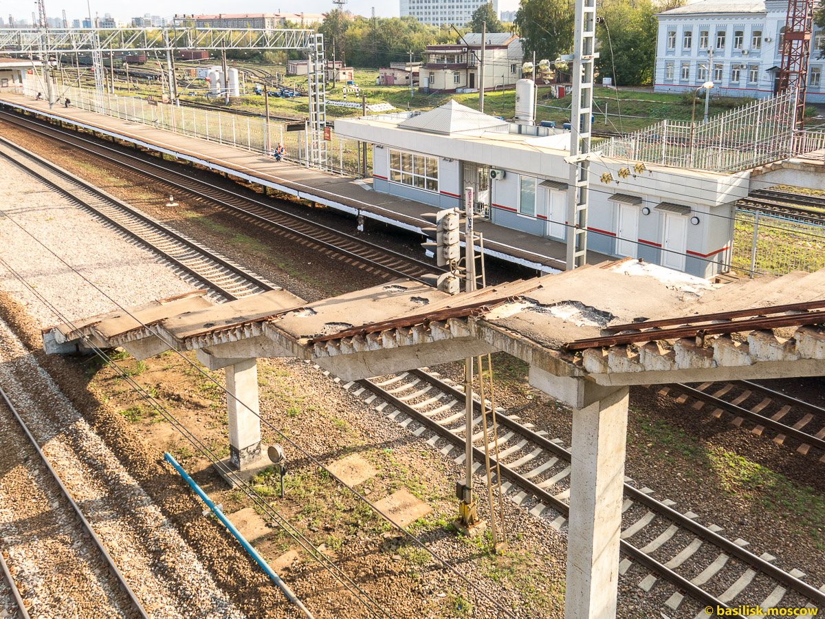 Бескудниково. Платформа Моссельмаш. Сентябрь 2015.