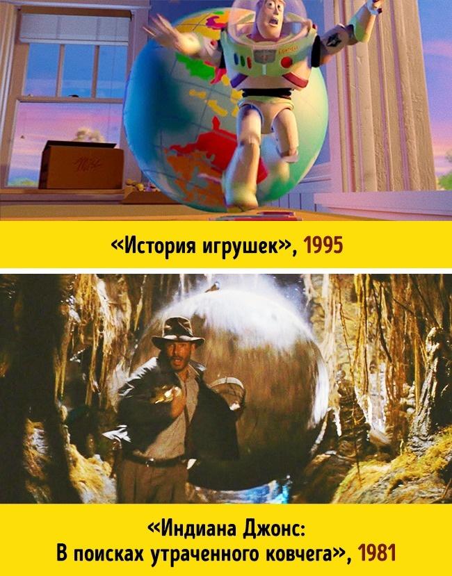 Пасхалки в мультфильмах