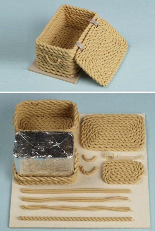 Филигрань из полимерной глины