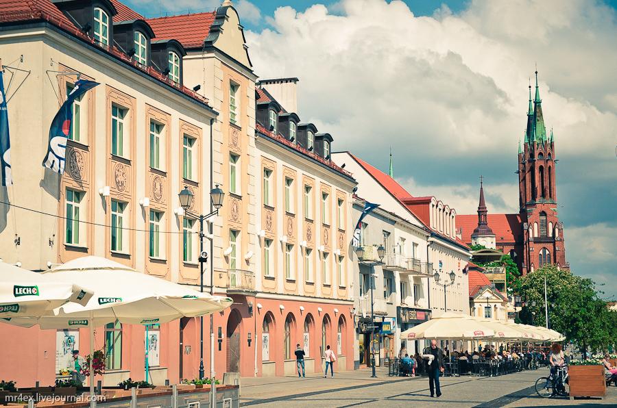Польша, Белосток, Bilystok, Ратуша, Rynek Kościuszki