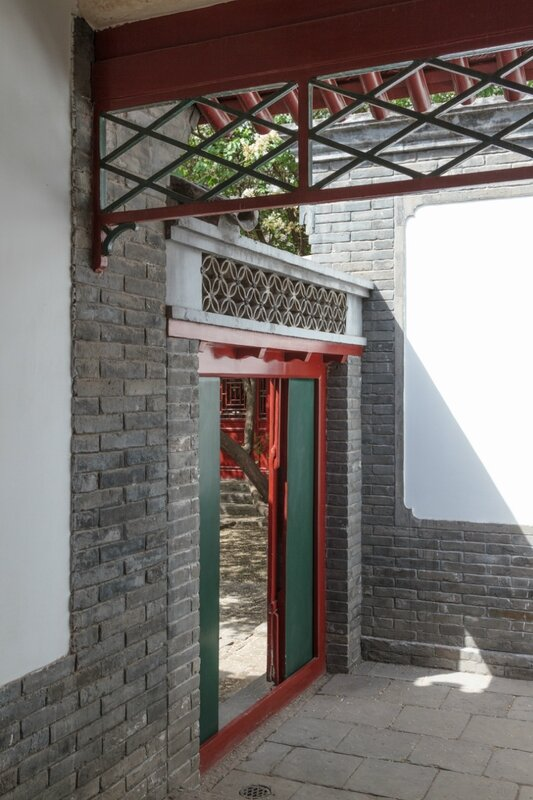 Вход в дом Лу Синя, музей Лу Синя, Пекин