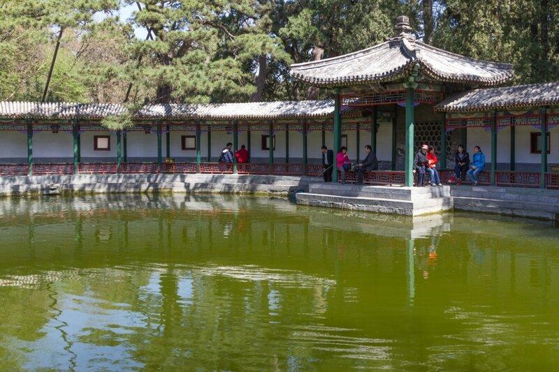 Обитель Цзяньсинь, парк Сяншань, Пекин