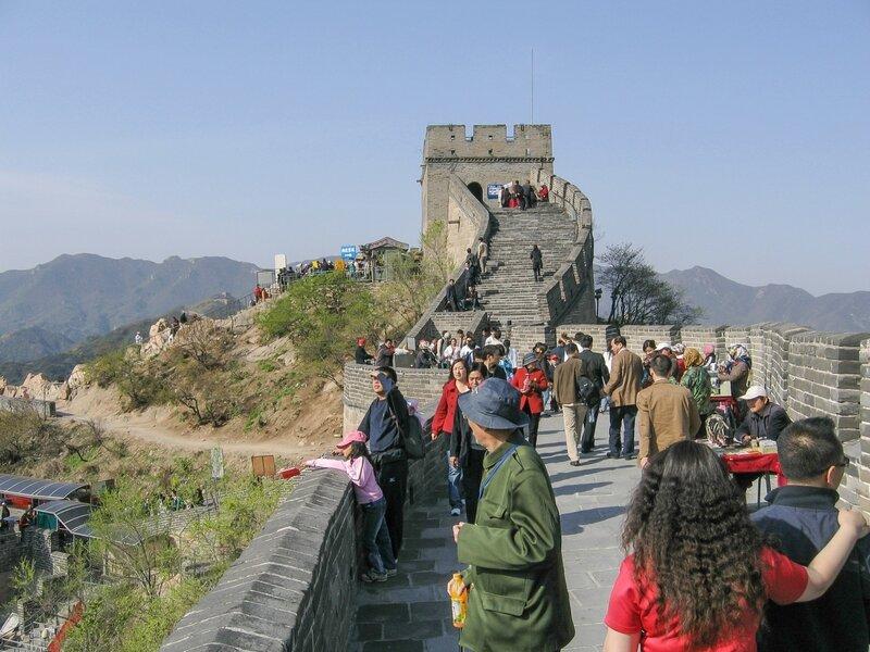 Люди на Стене, Великая китайская стена, Бадалин