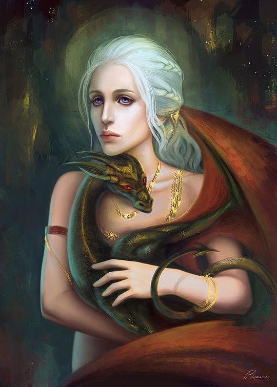Fantasy Illustrations by Gabriel Rano