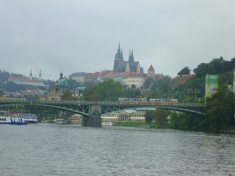 Виды Праги с корабля (Views of Prague from the ship)