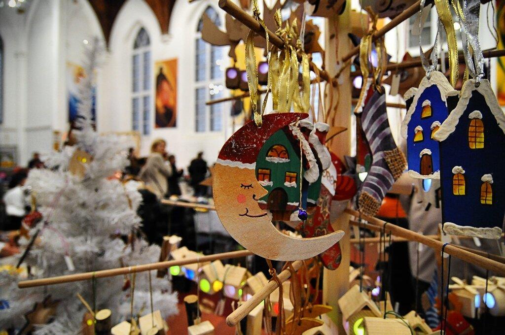 Рождественский базар в Англиканской церкви