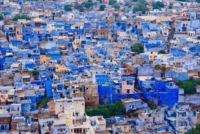 район в одном из кварталов Индии