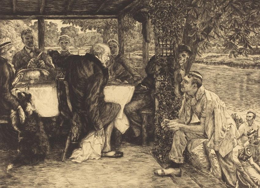1882 Притча о блудном сыне №4 Телец упитанный (The Fatted Calf)