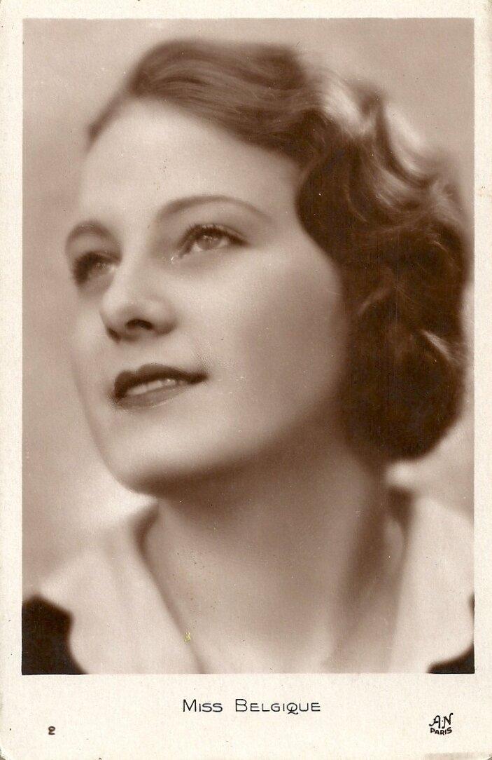Мисс Бельгия. Дженни Ван Парис