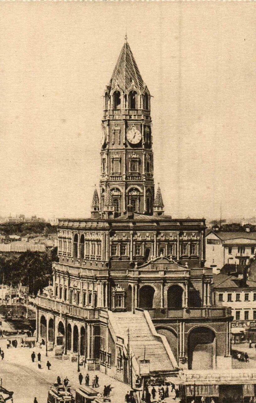 1926. Сухарева башня