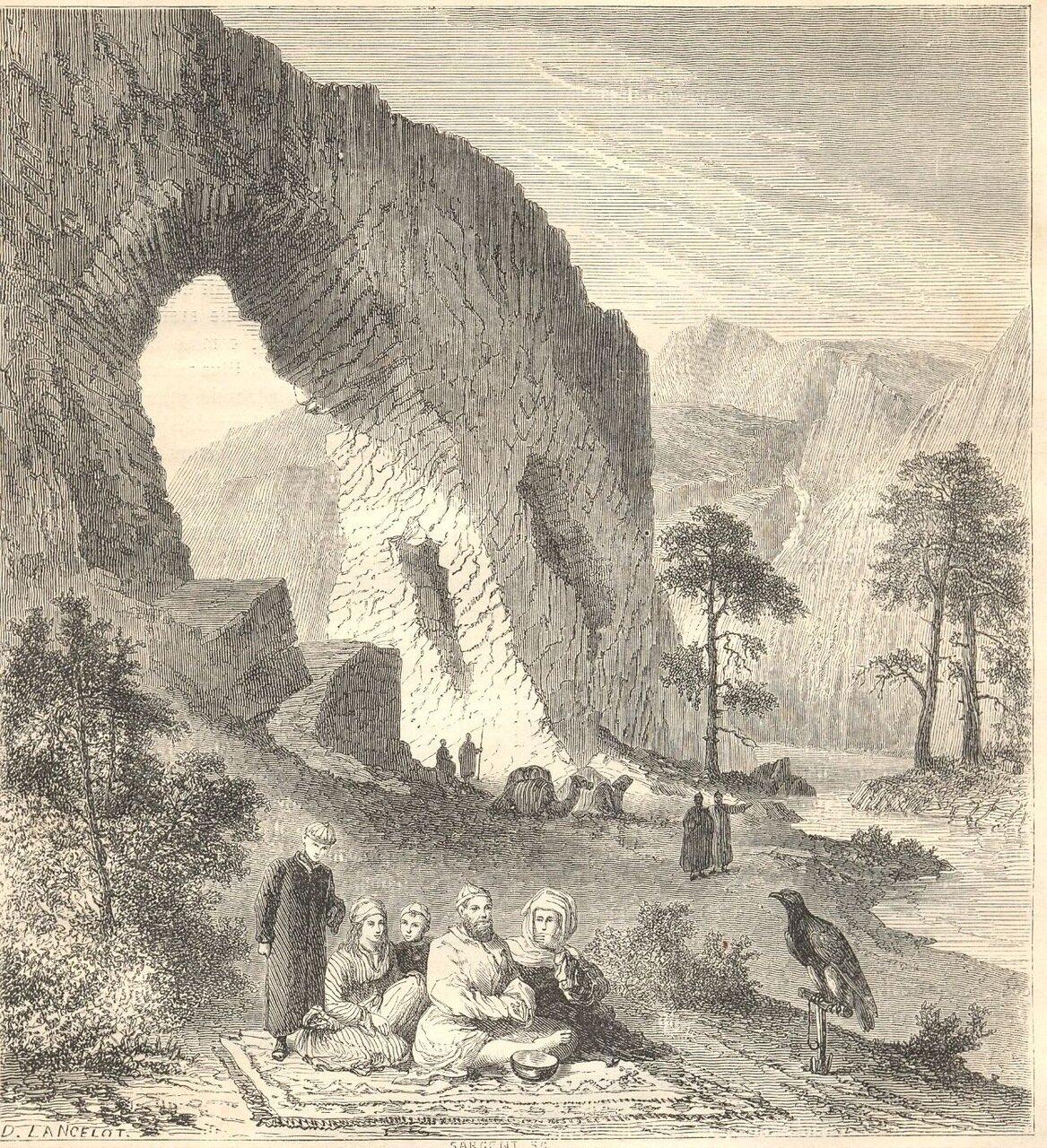 1860. Клан халхасцев у Аргуни