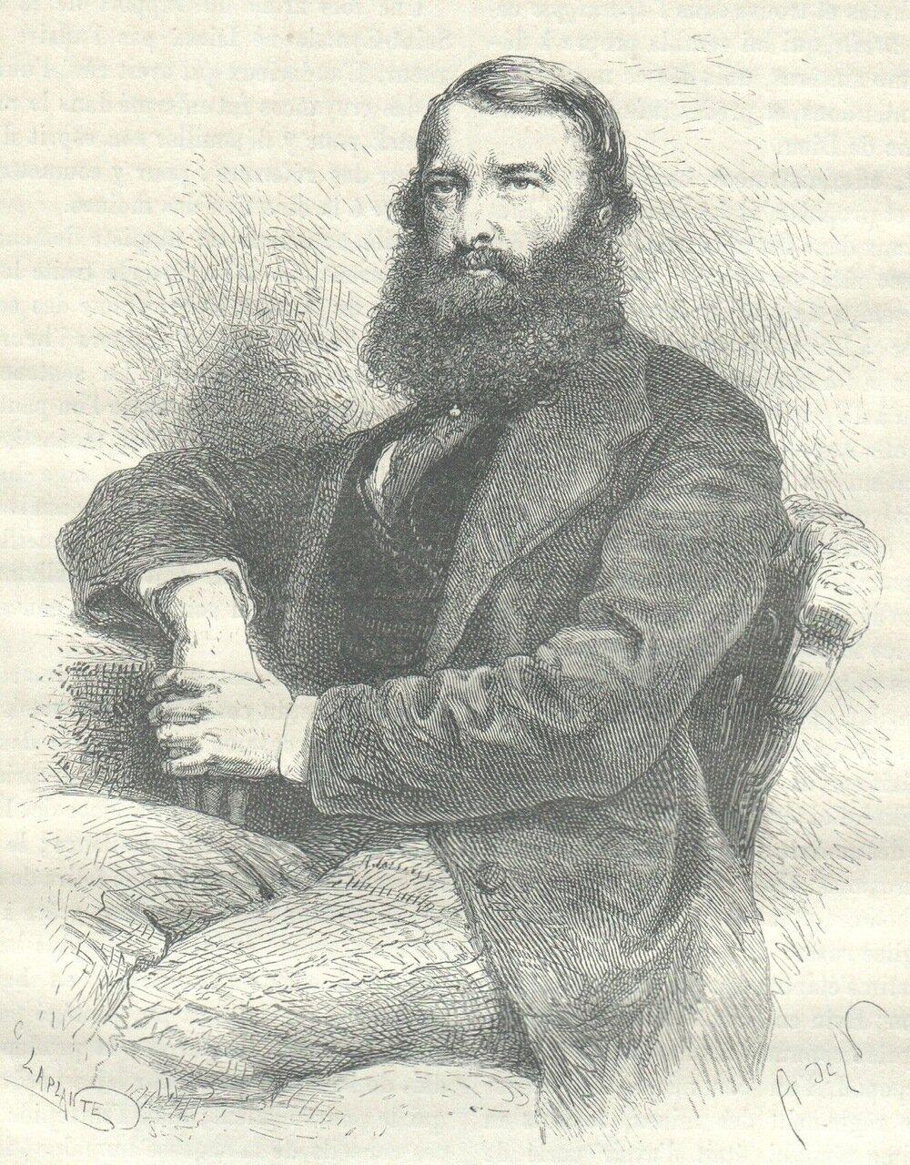 1872. М. Самарин, редактор московской газеты